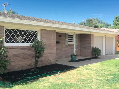 Lubbock Single Family Home For Sale: 5409 32nd Street