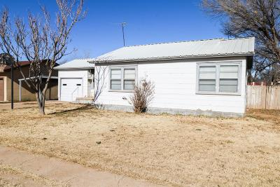 Littlefield Single Family Home For Sale: 317 E 15th