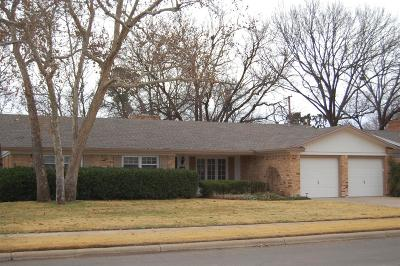 Single Family Home For Sale: 3803 61st Street