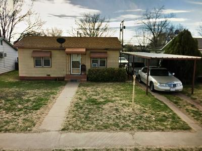 Lubbock TX Single Family Home For Sale: $45,900