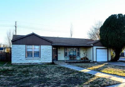 Lubbock TX Single Family Home For Sale: $99,905