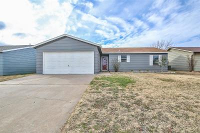 Lubbock TX Single Family Home For Sale: $130,000