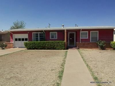 Lubbock Rental For Rent: 4020 37th