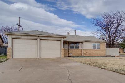 Lubbock TX Single Family Home For Sale: $132,500