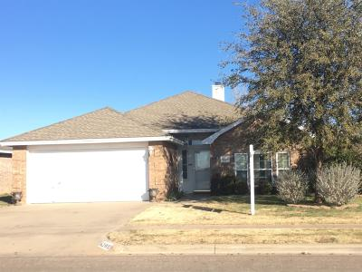 Lubbock TX Single Family Home For Sale: $172,250