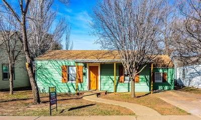 Lubbock TX Single Family Home For Sale: $122,500