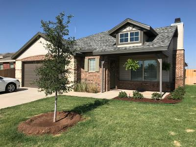 Lubbock TX Single Family Home For Sale: $180,000
