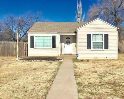Lubbock TX Single Family Home For Sale: $98,000
