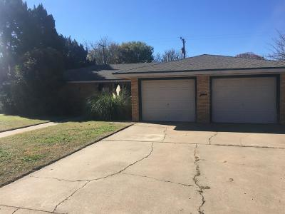 Abernathy Single Family Home For Sale: 423 North Drive
