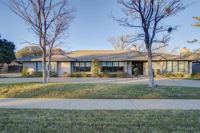 Lubbock Single Family Home Under Contract: 4610 10th Street