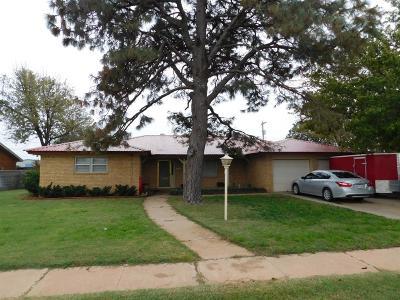 Abernathy Single Family Home For Sale: 801 1st Street