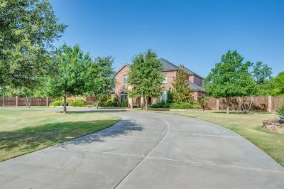 Lubbock Single Family Home For Sale: 16006 County Road 1860