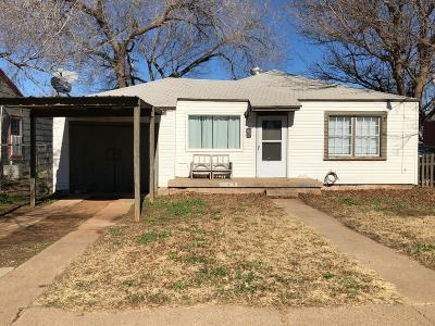 Single Family Home For Sale: 2514 1st Place