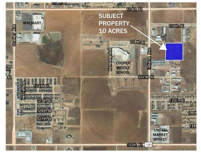 Lubbock County Residential Lots & Land For Sale: S 116th Street