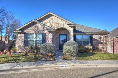 Lubbock Garden Home For Sale: 10608 Winston Avenue