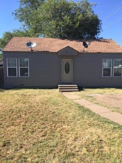 Lubbock County Single Family Home For Sale: 1502 24th Street