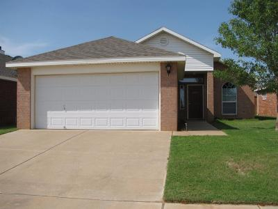 Lubbock TX Rental For Rent: $1,050