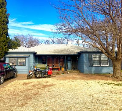 Lubbock County Single Family Home For Sale: 5122 39th Street