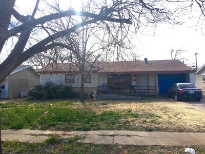 Lubbock County Single Family Home For Sale: 4517 36th Street