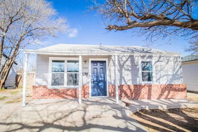 Lubbock County Single Family Home For Sale: 2020 39th Street