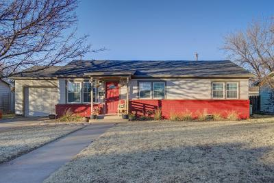 Lubbock Single Family Home Under Contract: 4008 46th Street