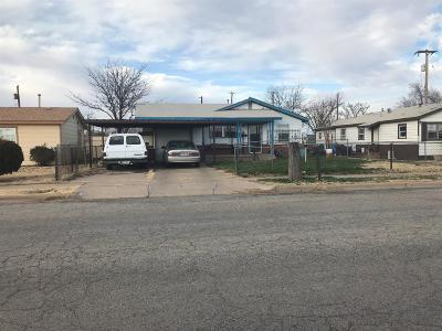 Lubbock Single Family Home Under Contract: 1809 E 28th Street