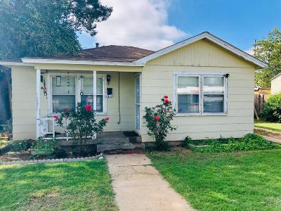 Lubbock County Single Family Home For Sale: 1615 58th Street