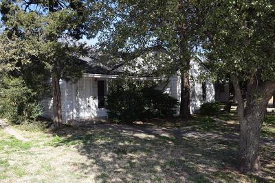 Lubbock TX Single Family Home Under Contract: $100,000