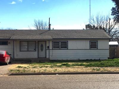Lubbock County Single Family Home For Sale: 5409 Ave D
