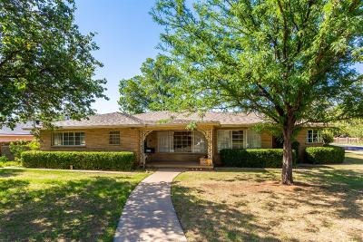 Lubbock Single Family Home For Sale: 1721 28th Street