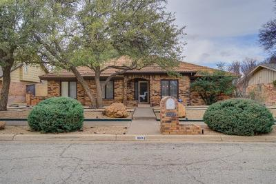 Lubbock Single Family Home For Sale: 8604 Utica Avenue