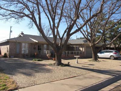 Slaton Single Family Home For Sale: 105 N Terry Drive