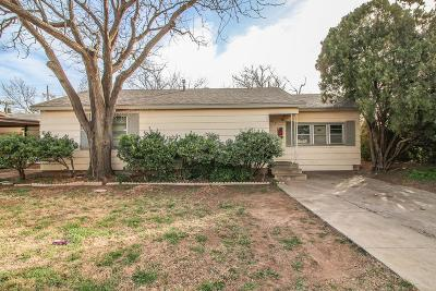 Lubbock County Single Family Home For Sale: 2019 49th Street