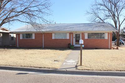 Littlefield Single Family Home For Sale: 300 E 16th Street