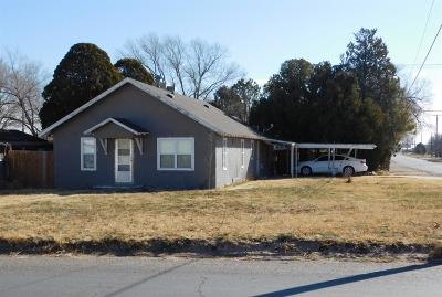 Bailey County, Lamb County Single Family Home For Sale: 121 W 8th