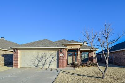 Lubbock Single Family Home For Sale: 7024 96th Street