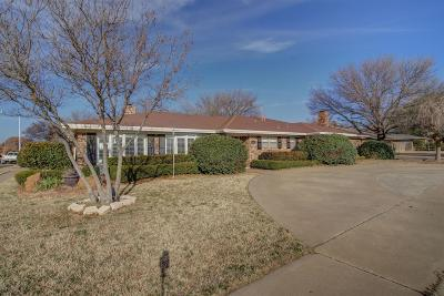 Lubbock TX Single Family Home Under Contract: $264,900