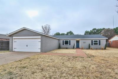 Lubbock Single Family Home For Sale: 2403 95th Street
