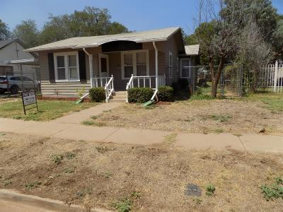 Single Family Home For Sale: 2206 16th Street