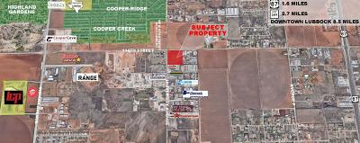 Lubbock Commercial Lots & Land For Sale: 11401 University