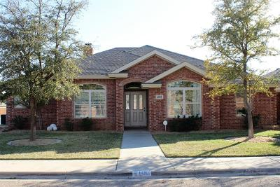 Lubbock Single Family Home Under Contract: 6001 86th Street
