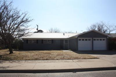 Wolfforth Single Family Home For Sale: 809 8th Street