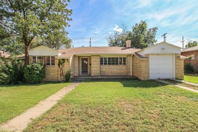 Lubbock Single Family Home For Sale: 2015 17th Street