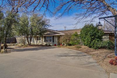 Lubbock Single Family Home For Sale: 3314 38th Street