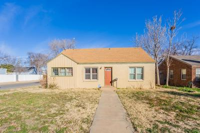 Lubbock Single Family Home For Sale: 1724 28th Street