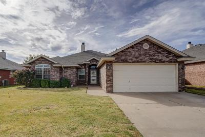 Lubbock Single Family Home For Sale: 5729 107th Street