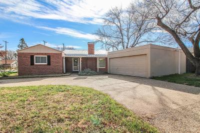 Lubbock Single Family Home For Sale: 3413 23rd Street
