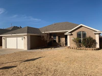 Lubbock Single Family Home For Sale: 5512 105th Street
