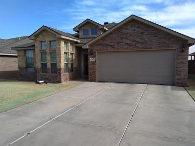 Lubbock TX Single Family Home For Sale: $185,000
