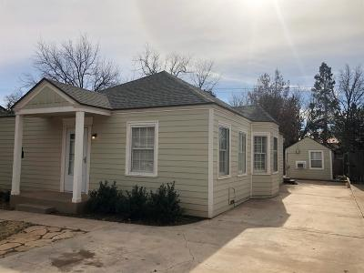 Lubbock Single Family Home For Sale: 3313 22nd Street
